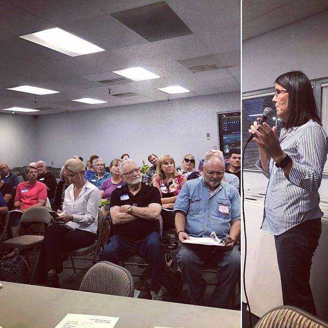 Jean Hendrix, CVDC VP, shared updates about the Blue Wave at last night's meeting. Check out our website at centralvalleydemocraticclub.com to learn more.