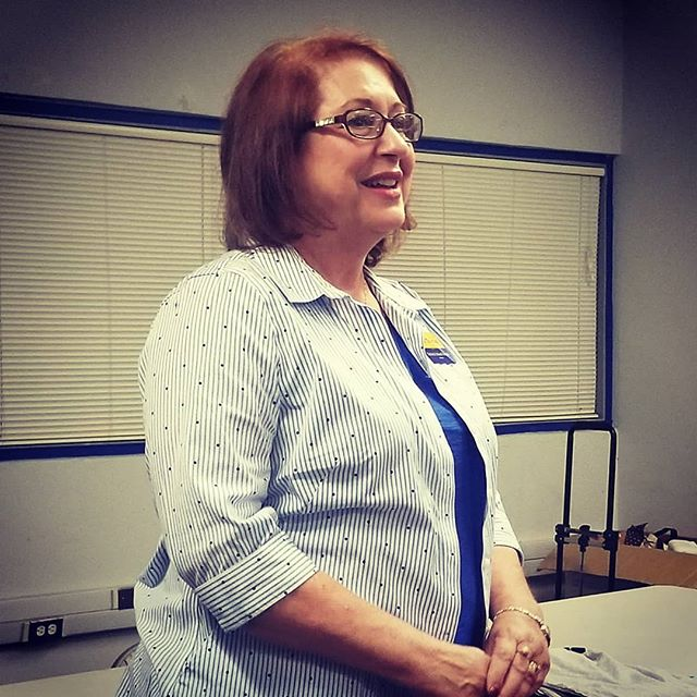 "Susan Thomas, candidate for Turlock School Board - Area 4, spoke to our club tonight about why she's running. ""Just voting was no longer enough. My experience brings a voice with a variety of experiences."" Go get em, Susan! #bluewave2018"