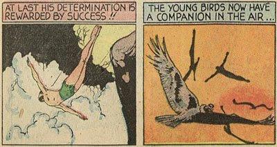 The Black Condor Comic Circa 1950's