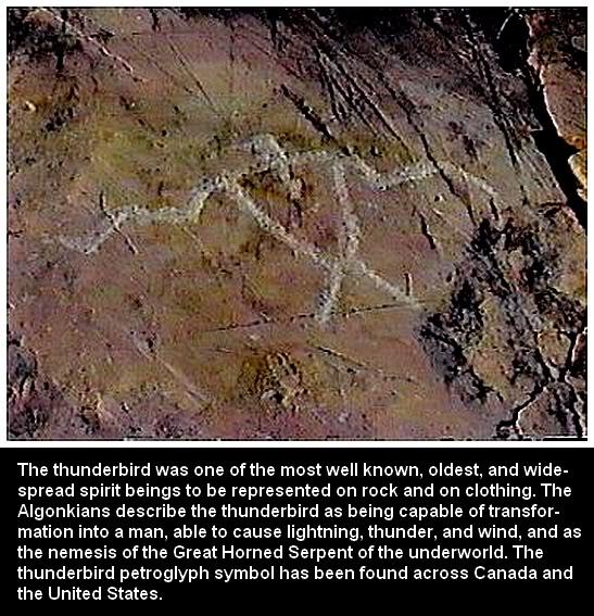 Thunderbird Petroglyph