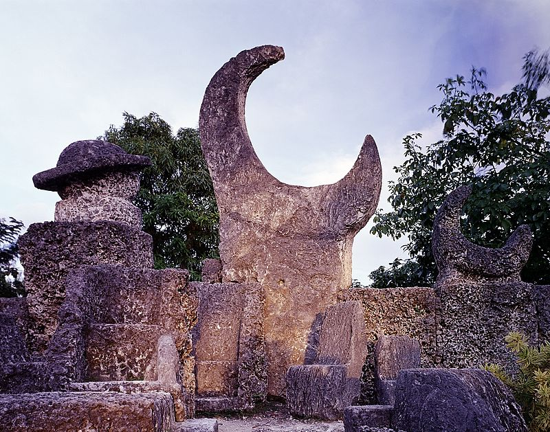 ROCK GATE, KNOWN TO MOST AS CORAL CASTLE - HOMESTEAD, FLORIDA