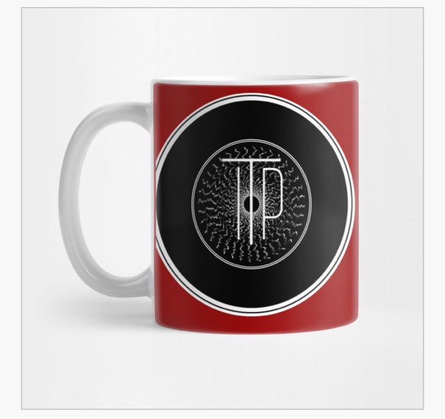 INTO THE PORTAL RECORD ICON MUG