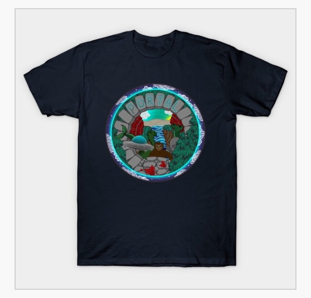 PEER INTO THE PORTAL SUPERSOFT TEE