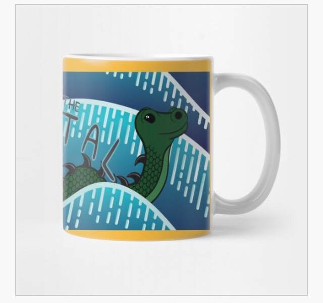 INTO THE PORTAL OGOPOGO MUG