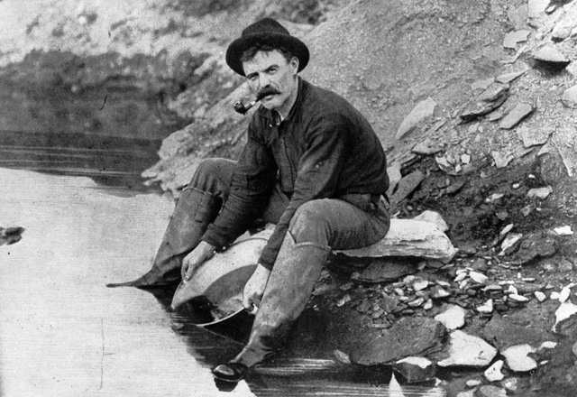 Life was rough back in the days of the Yukon Gold Rush