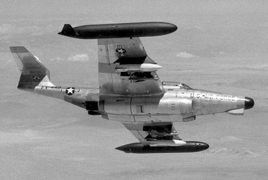 The same F-89 Model flown by Moncla