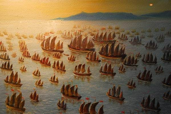Zheng He's Treasure Fleet