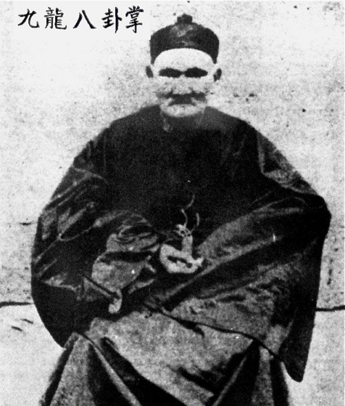 Li Ching-Yuen pictured here in 1927 holding one of his potent herbs.