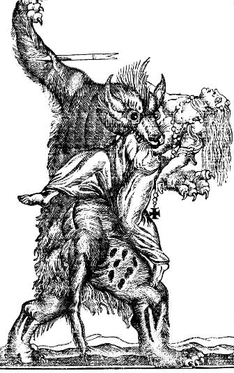 18.Werewolves on the rampage. Unknown, 18th Century..jpg