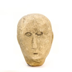 Example of an authentic Celtic Head