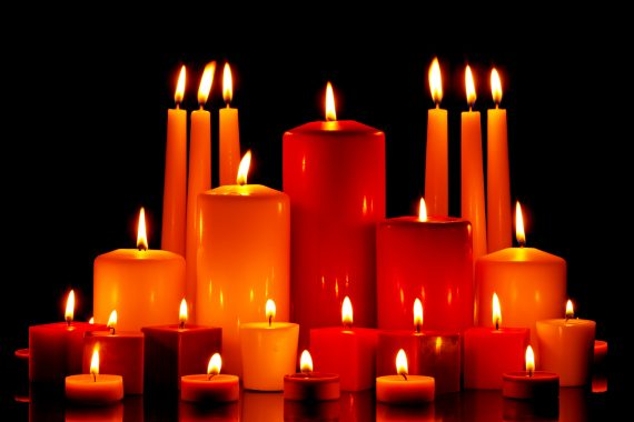 May the candles burn like a beacon and lighthouse, drawing expectant clients to find us