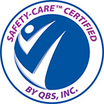 All staff members are trained and certified in Safety Care (QBS) to ensure the safety of our clients
