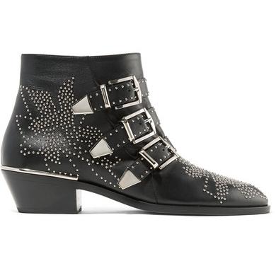 Sarita's dream - Chloe Susanna Studded Leather Ankle Boot $1,903