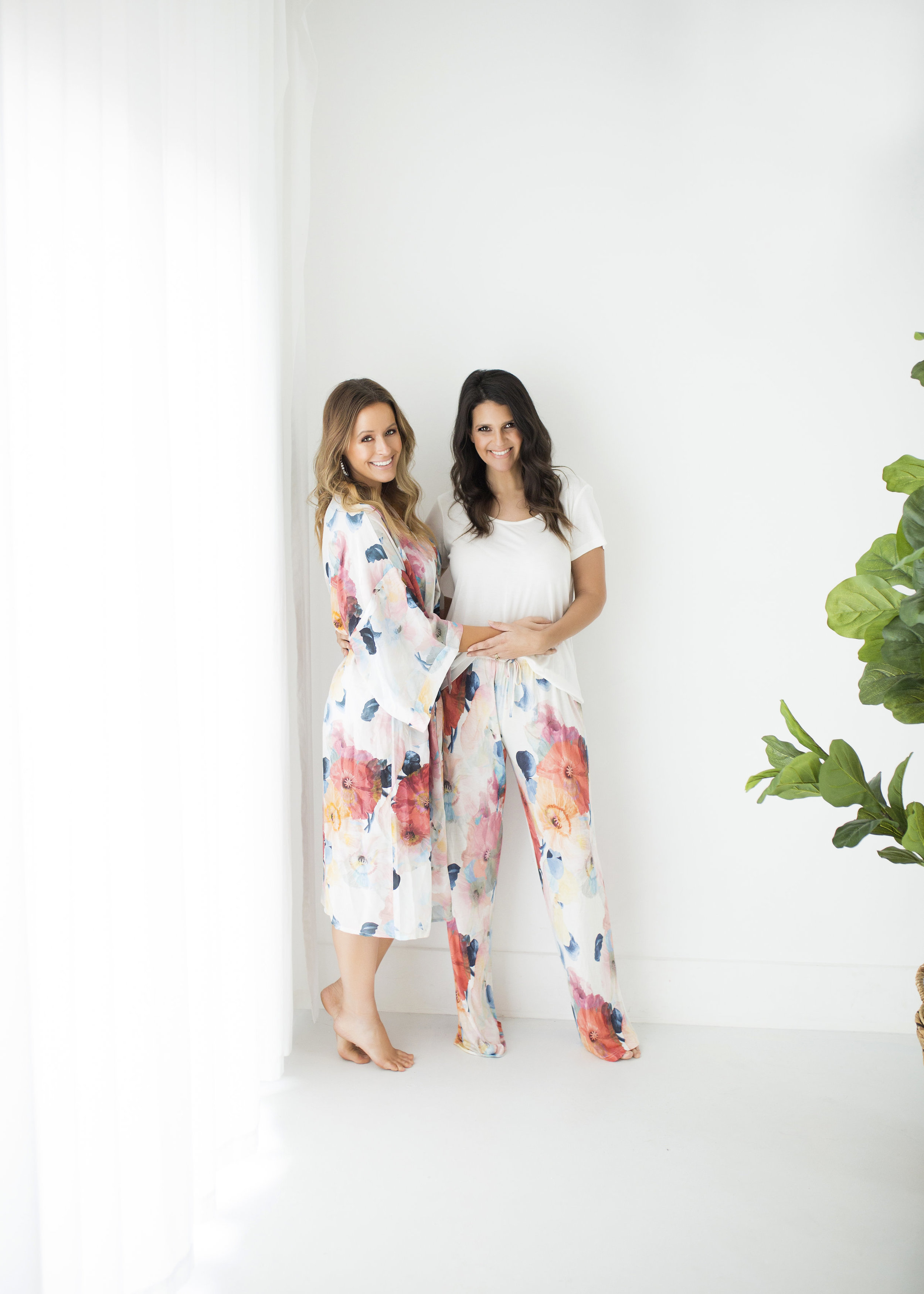 Squeak Design Poppy Pyjama Set  $139 & Poppy Dressing Gown $159