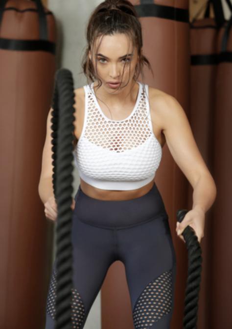 Lorna Jane Just Let Me Workout Sports Bra