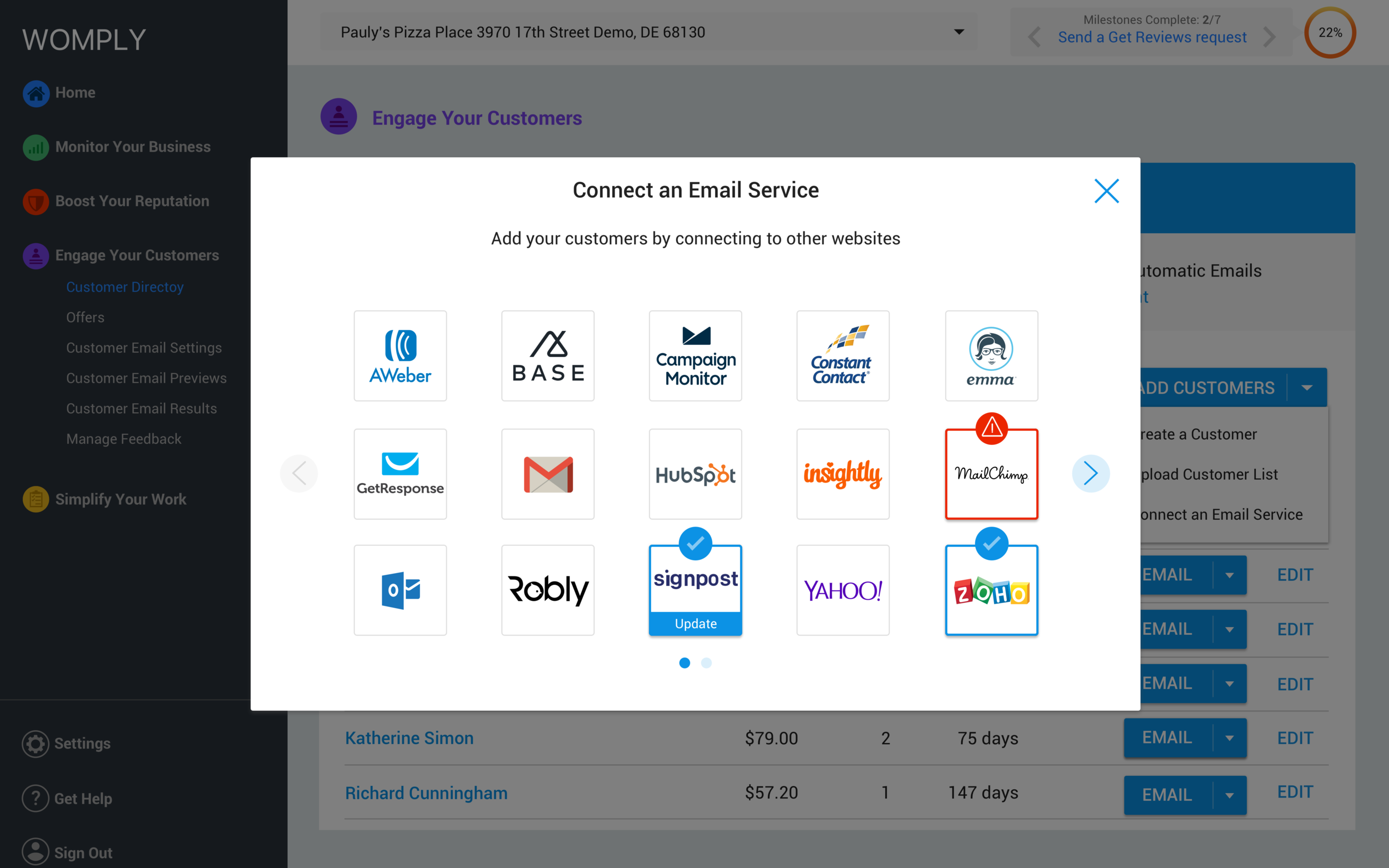 Credential Import - Email Service Component - Update Hover.png
