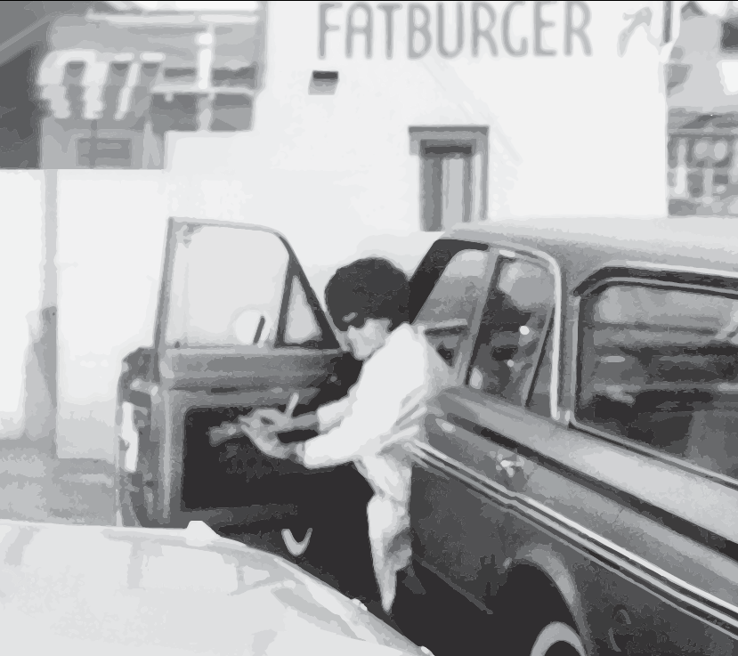 """""""The name of the store was my idea, I wanted to get across the idea of a big burger with everything on it . . . a meal in itself."""" - — Fatburger Founder, Lovie Yancey"""