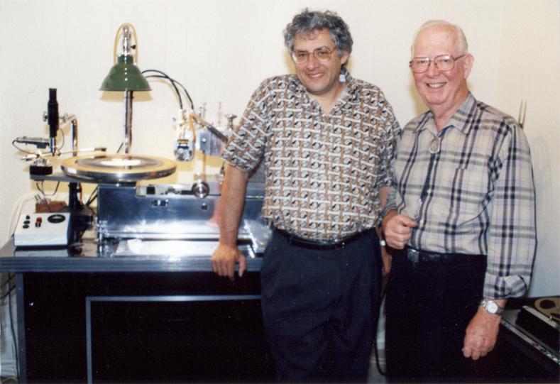 HRS Founder Len Horowitz with Westrex President Frank Pontius