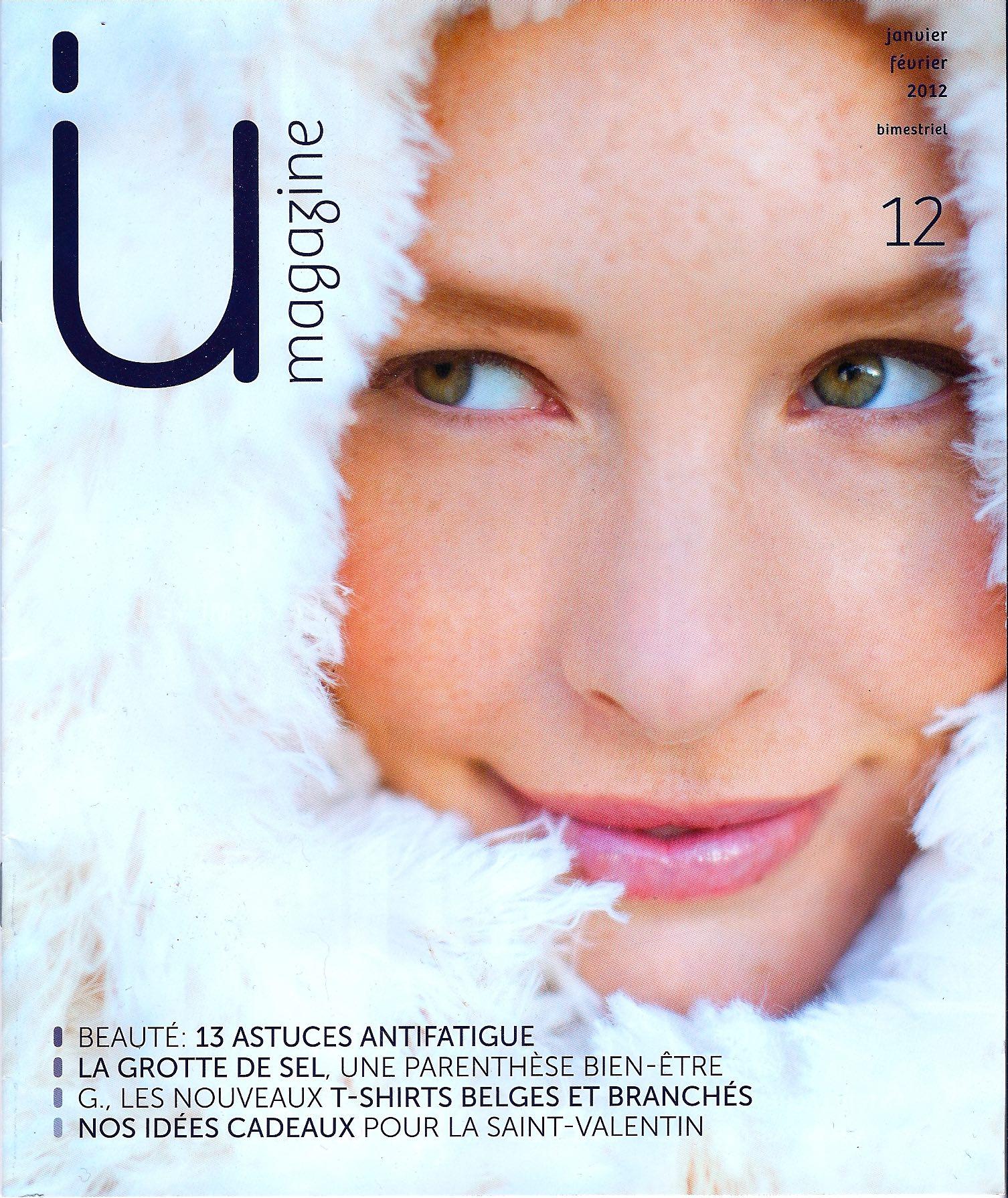 NataMakeUp - UI magazine - cover - 13 astuces antifatigues