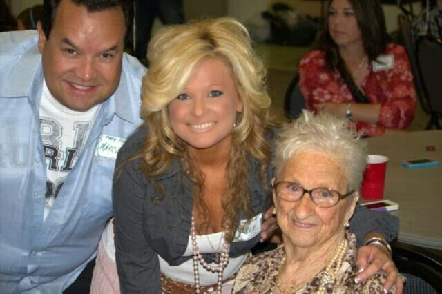 """Marco, Cheree and Mary (Granny!) - It all started with guidance from our """"Angels on Earth"""" - A true family affair"""