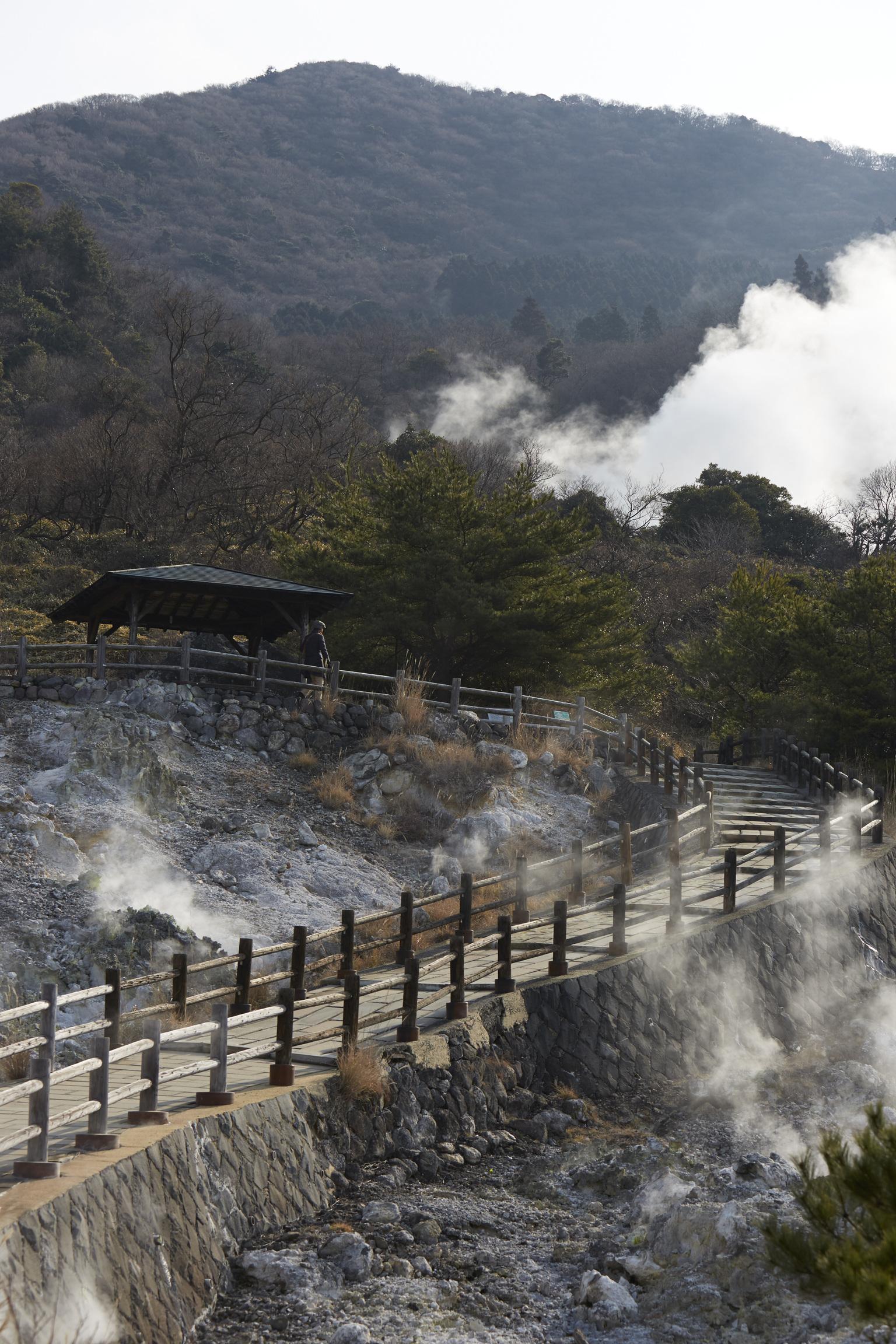 Unzen Jigoku (Hot Spring)