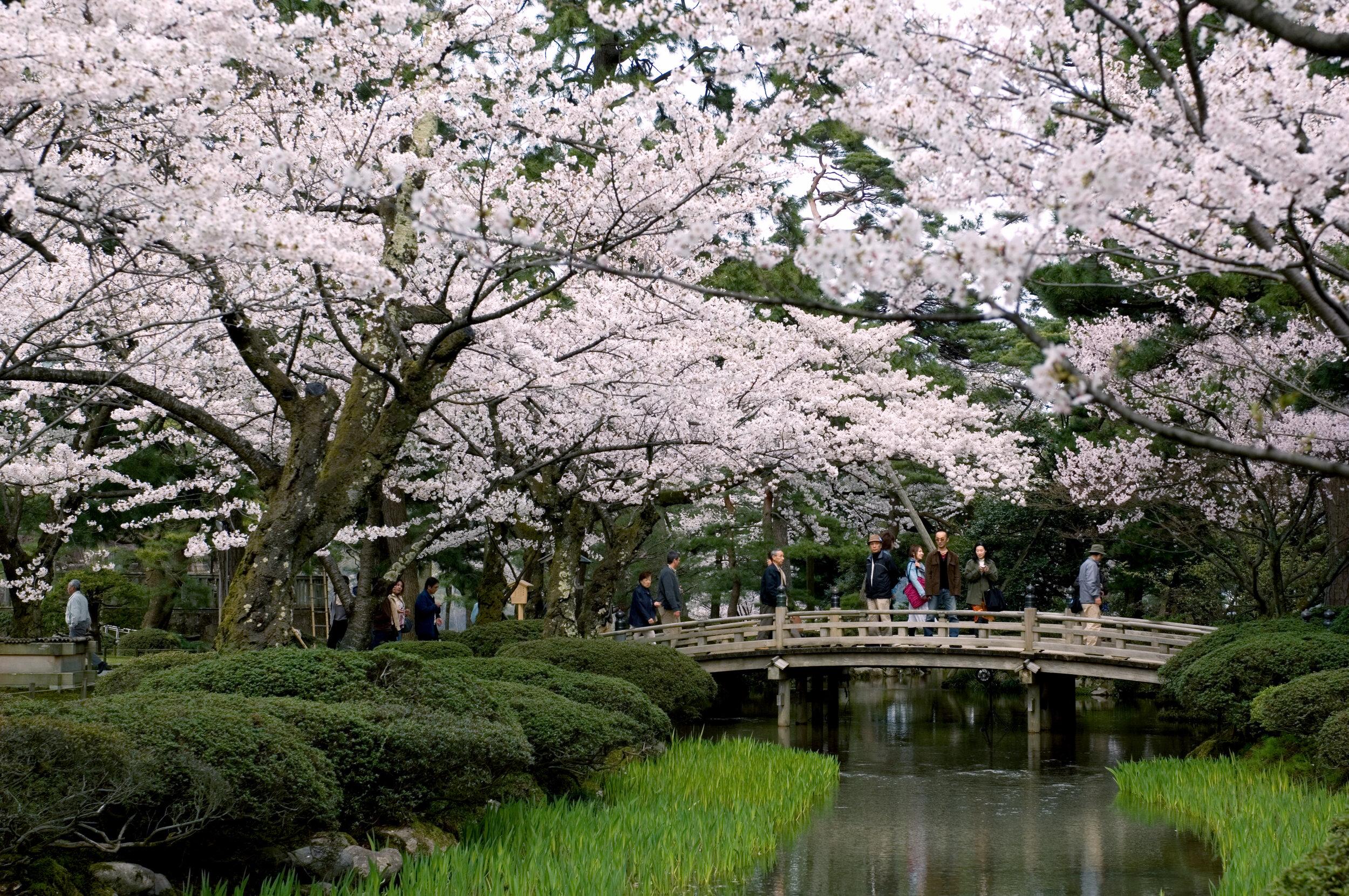 Kenroku-en Garden, Ishikawa