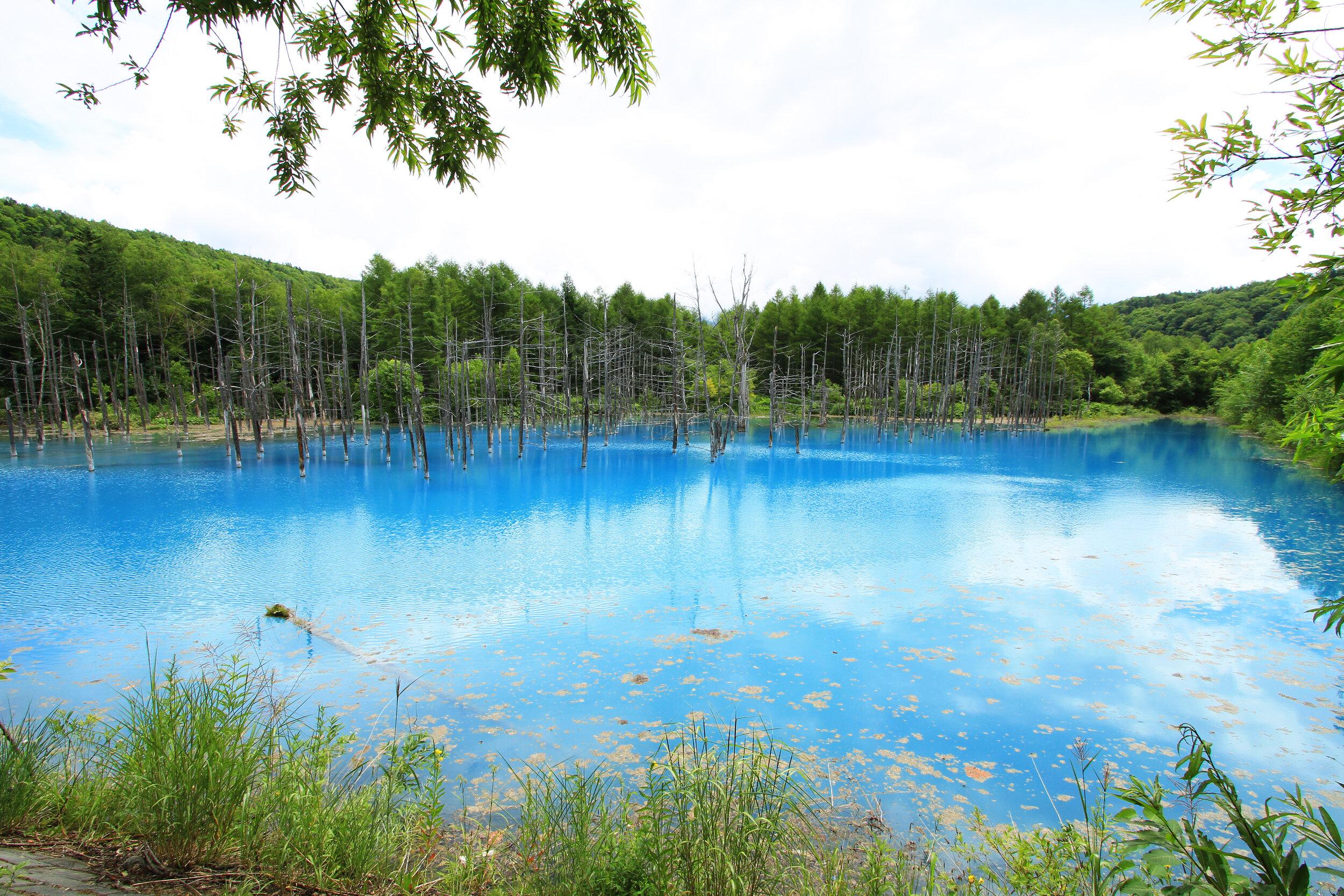 Blue Lake, Hokkaido