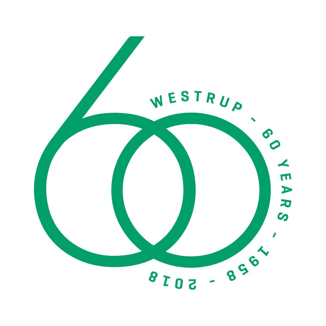 ....Westrup's 60th anniversary ..60ème anniversaire de Westrup ..60. Firmenjubiläum von Westrup ..伟世卓60 周年庆 ..60-я годовщина Westrup ....