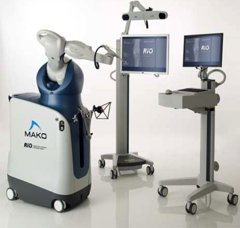 - MAKO Robotic Interactive Orthopaedic Arm