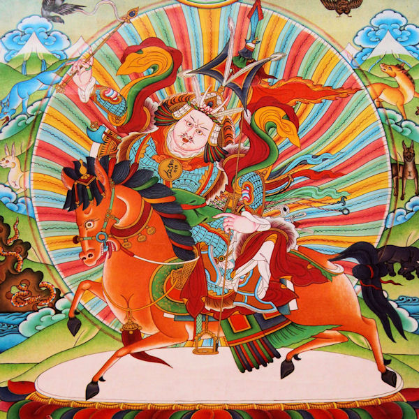 King Gesar Prayer - King Gesar Norbu Dradul is the embodiment of the three great Bodhisattva and Guru Rinpoche …