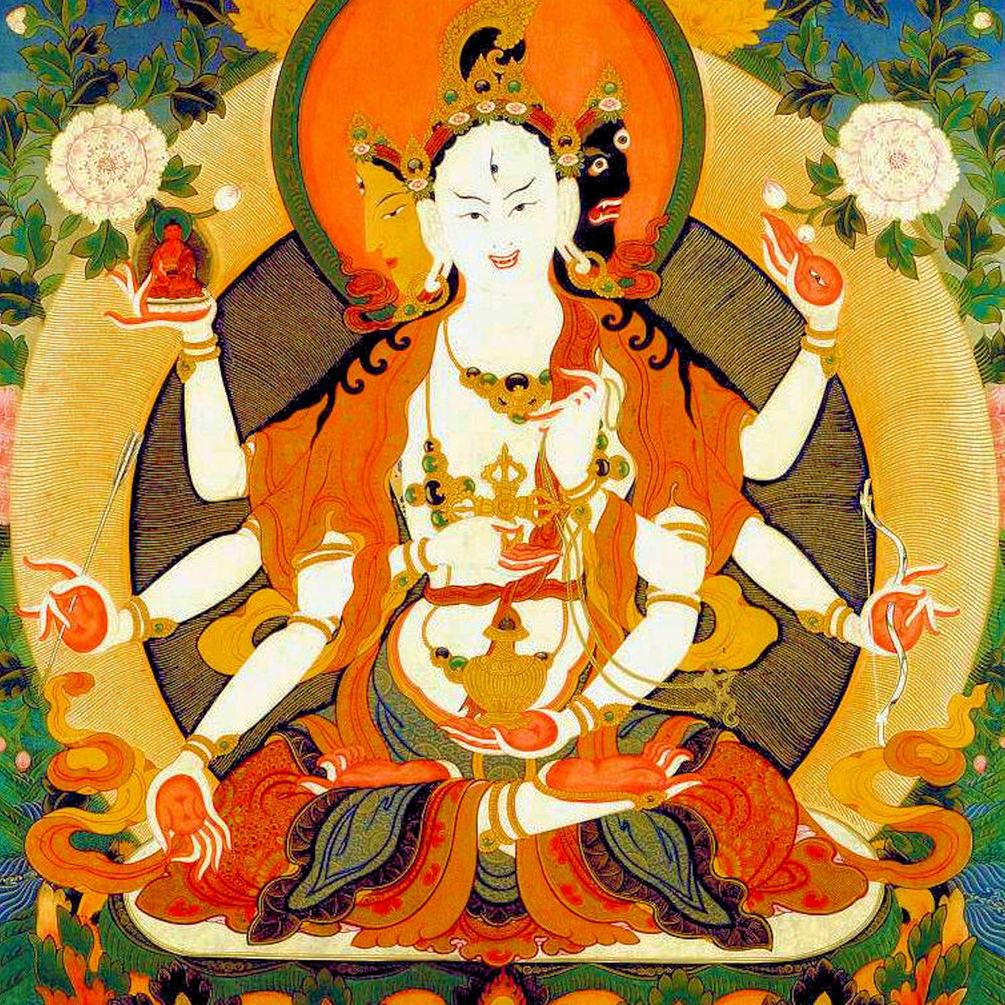 Namgyalma Mantra - Namgyalma is a deity for long life and purification. Her mantra has infinite benefits …