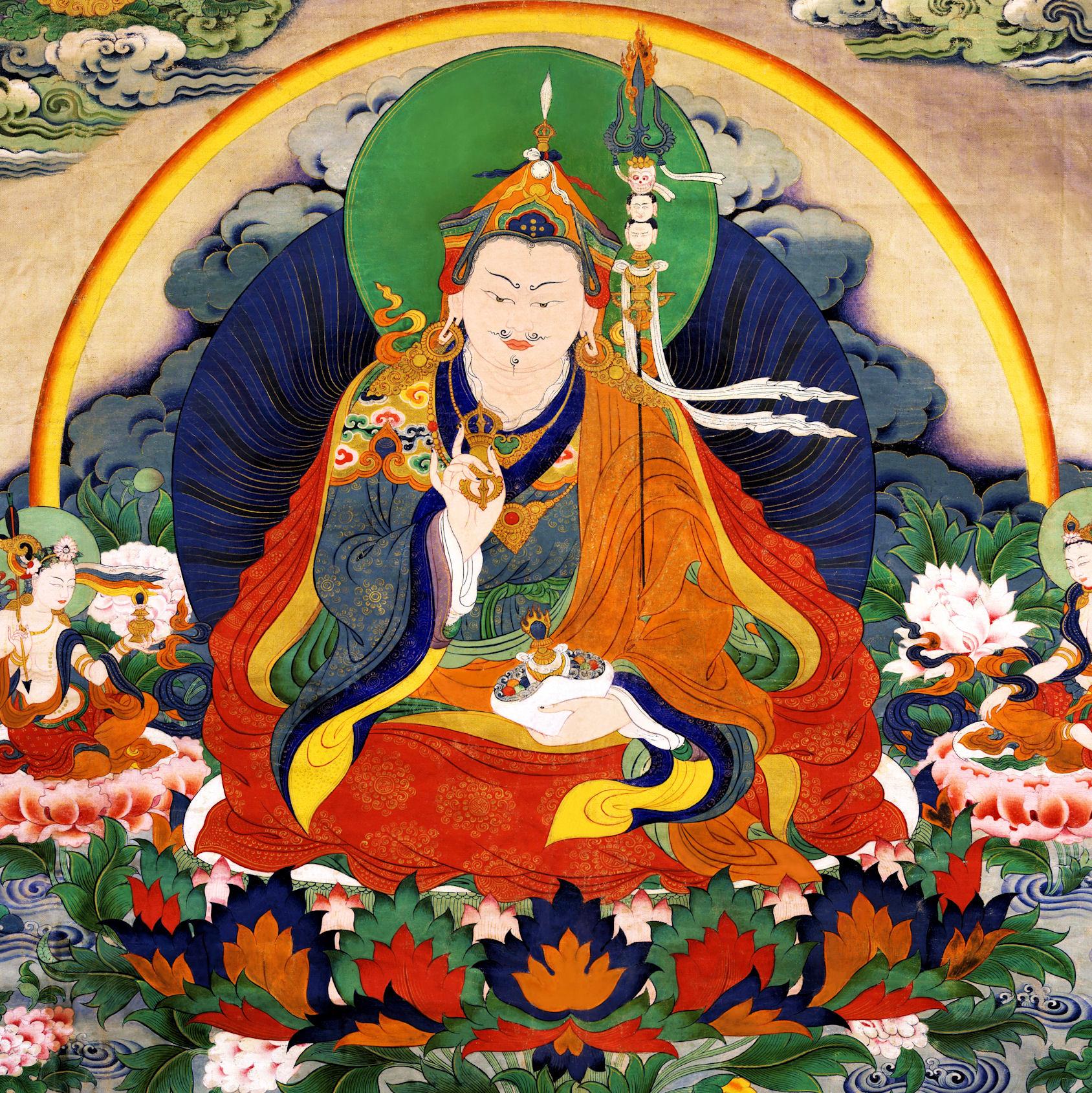 Guru Rinpoche Seven Lines Prayer by Choekyi Gonpo.jpg