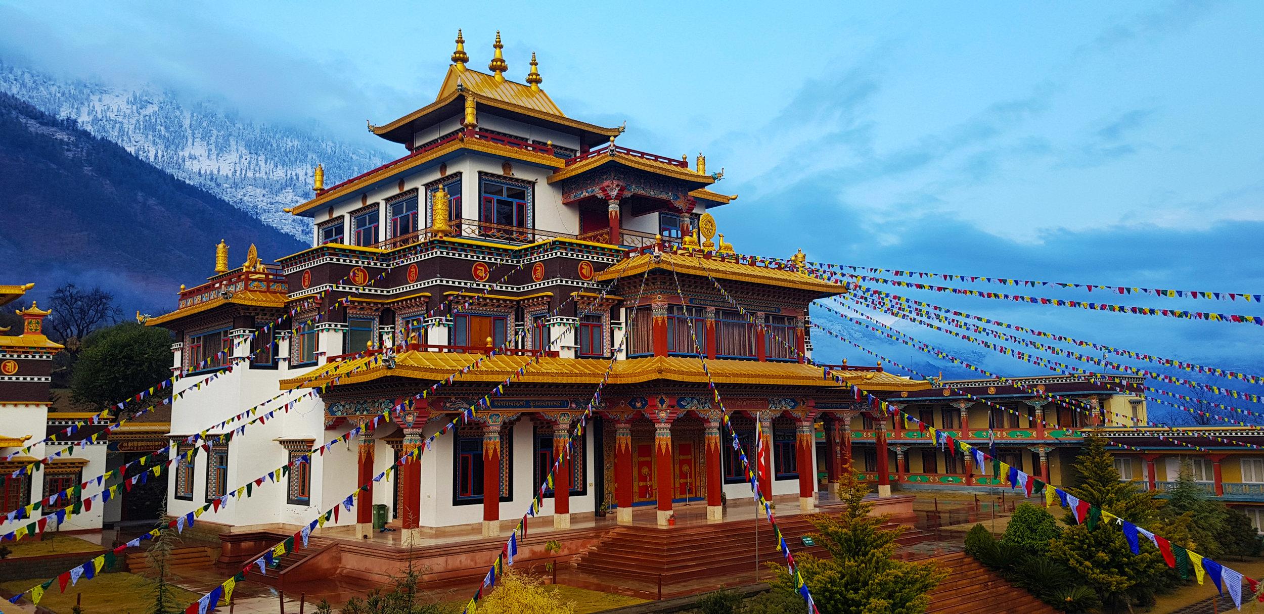 Dechen Choekhor Mahavihara, Kullu, India.jpg
