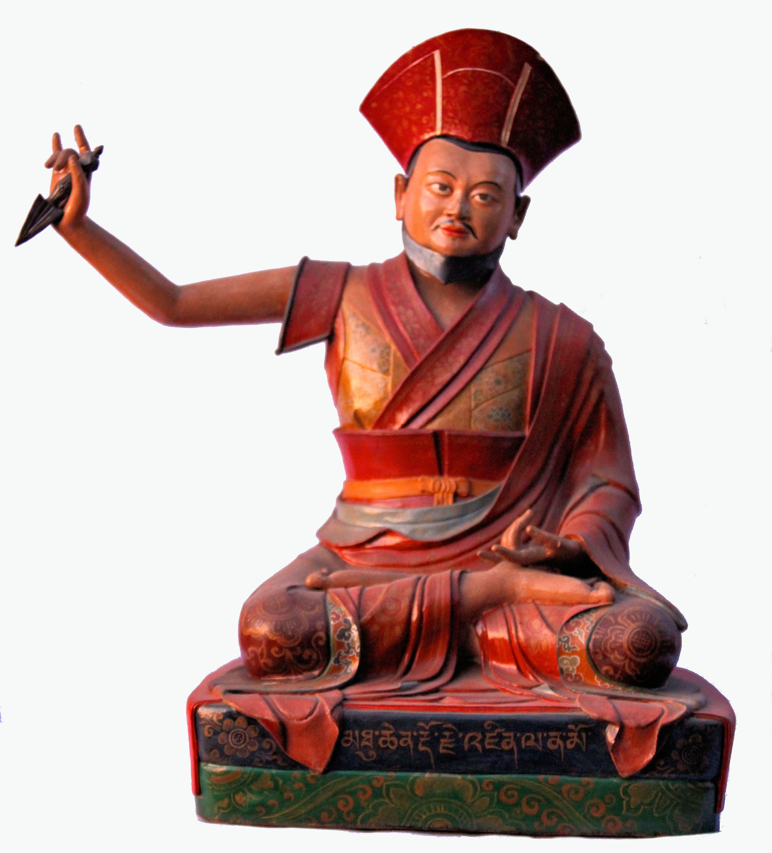 The 1st Drukpa Choegon Rinpoche, Druk Shabdrung Choekyi Gonpo; renowned as the Dorje Dzinpa of Tsari