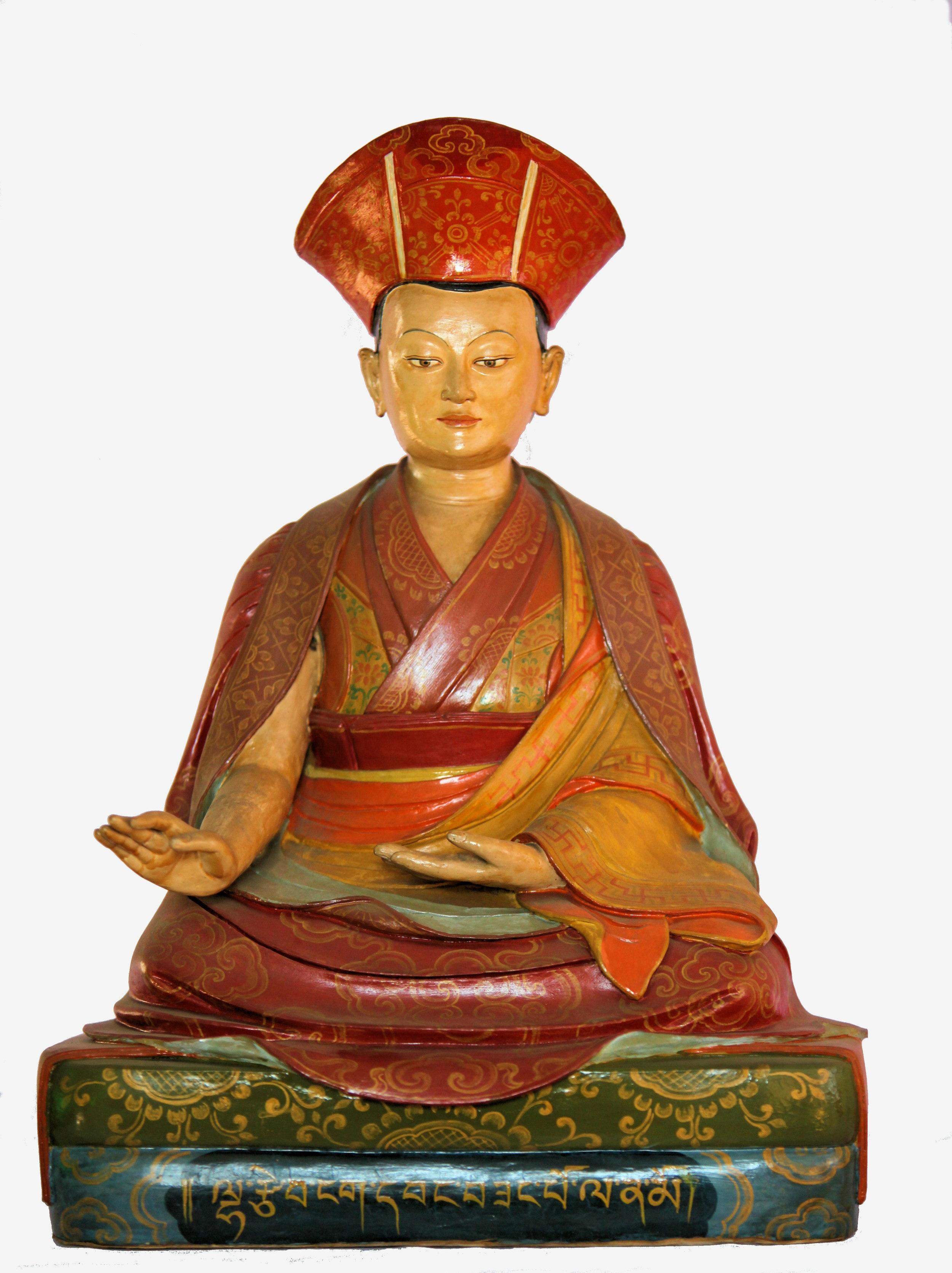 The 1st Drukpa Yongzin Rinpoche, Lhatsewa Ngawang Zangpo