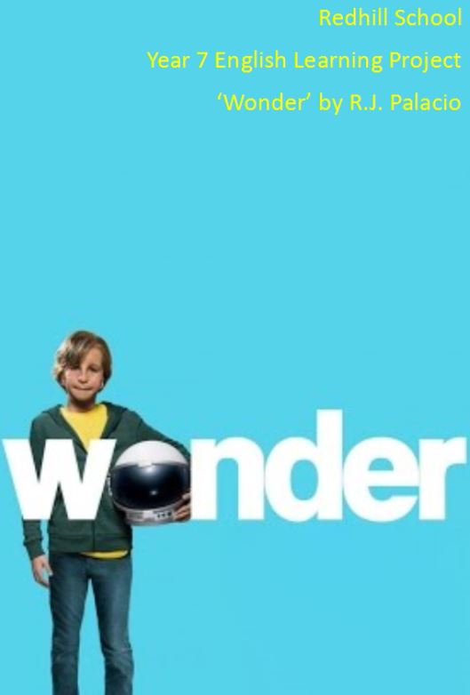 "Year 7 Learning Project ""Wonder"""