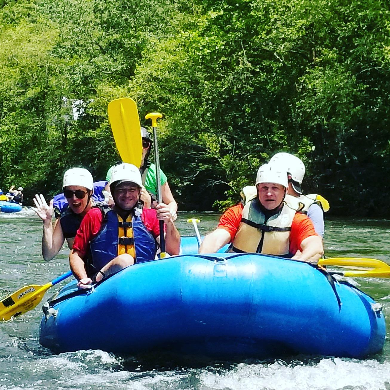 Rafting Ocoee- Owned