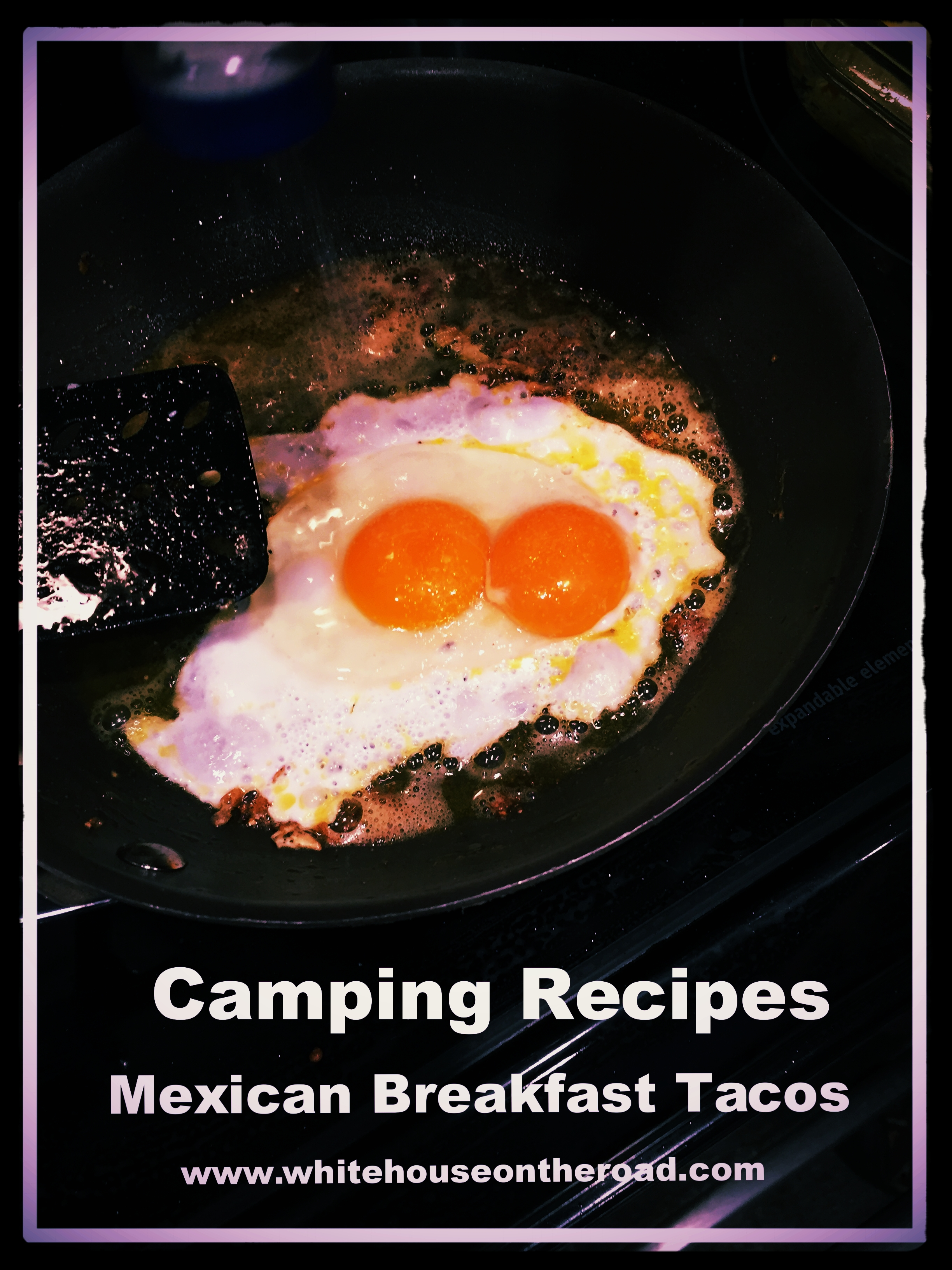 You can cook your eggs over the stove, camp fire or grill.