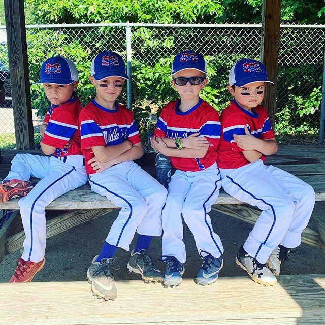 AllStars allllllllllllll day looooong!  Then on the road tomorrow!. . . . #whitehouseontheroad #allstarsbaseball #mvallstars #baseballboys