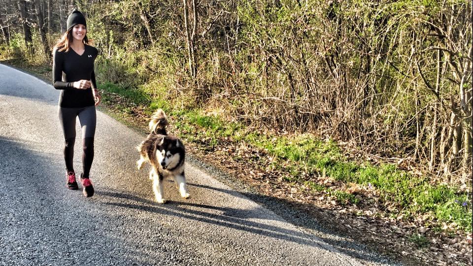 Training with Husky Kira