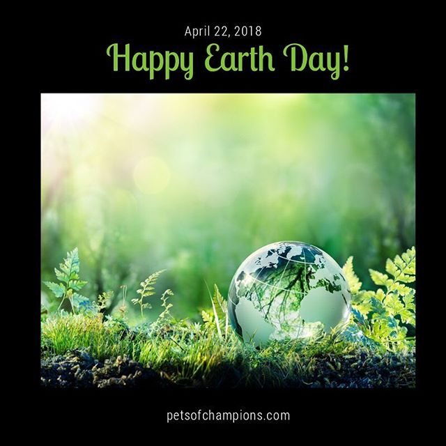 "Happy Earth Day to all our friends from around the world! Let's raise together awareness about the environmental issues facing our planet. Coordinated by Earth Day Network, the movement's main goal is to ""build the world's largest environmental movement"". Discover how we celebrate Earth Day @discoverychannel :  http://bit.ly/earthday-discovery  #earthday #happyearthday #EndPlasticPollution  #plastic #earthday2018 #pollution #savetheplanet #saynotopollution #instaearthday #instanature #climate #climatechange #picoftheday #wilderness #trees #oceans #wildlife #wildanimals #water #oceans #nature #ecowatch ‪#ActOnClimate‬ #petsofchampions"