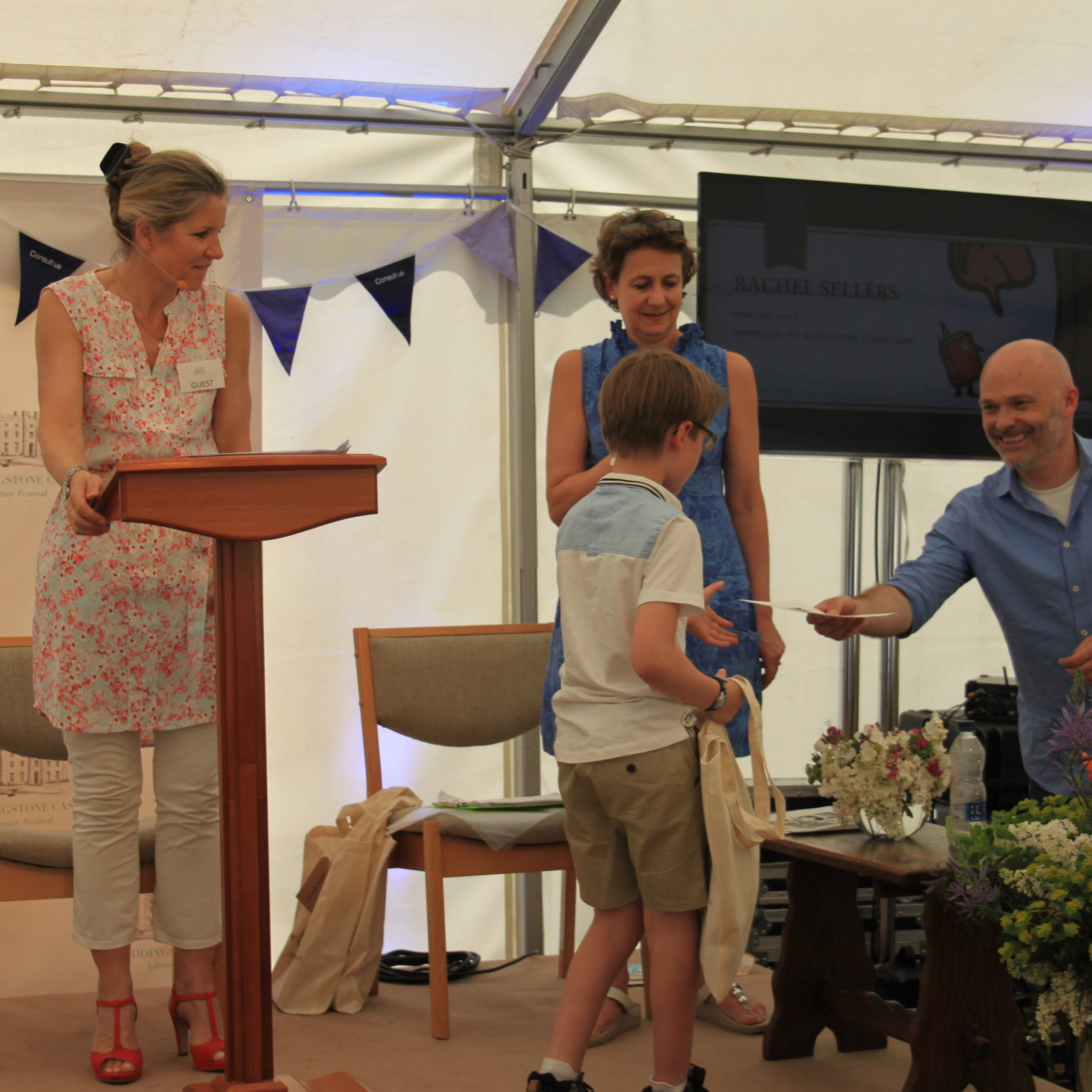 'And the winner is……' Castle Literary Festival, 500 words short story writing competition