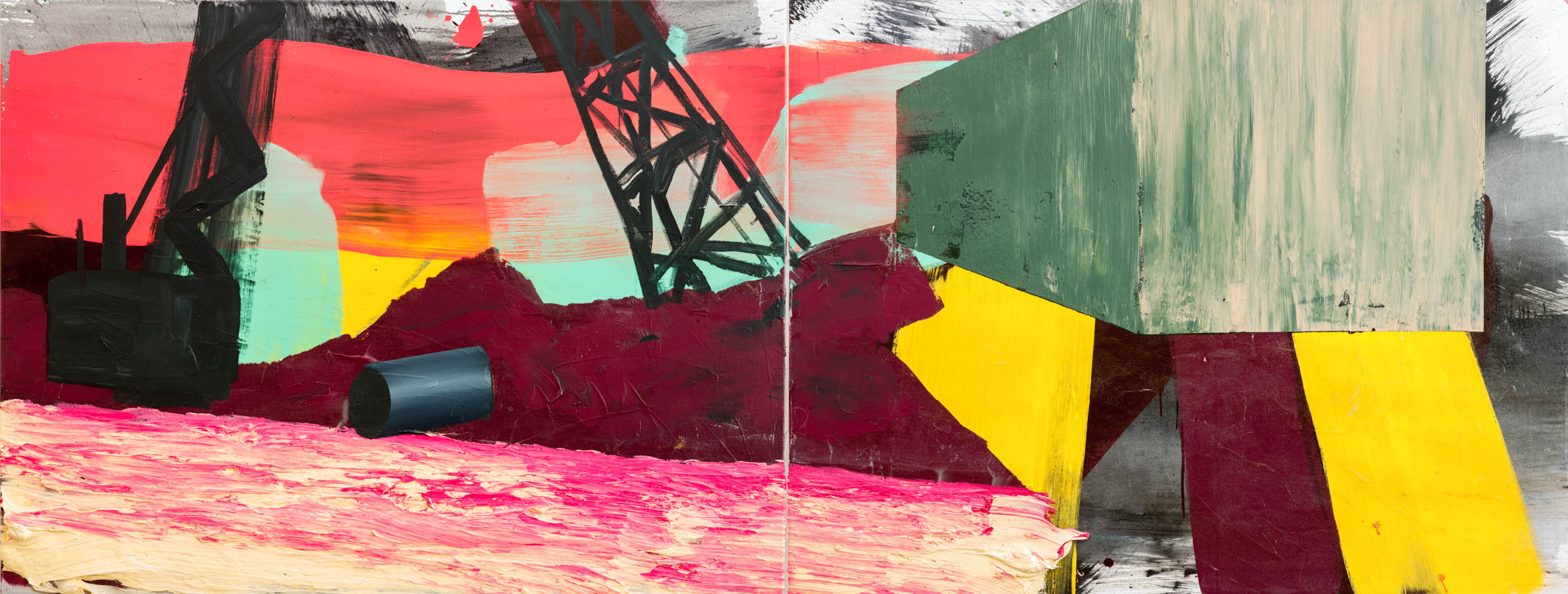 Unbounded (1) _diptych_140 x 340 cm_acrylicpaint emulsion on canvas_Hagens_2014_-2.jpg