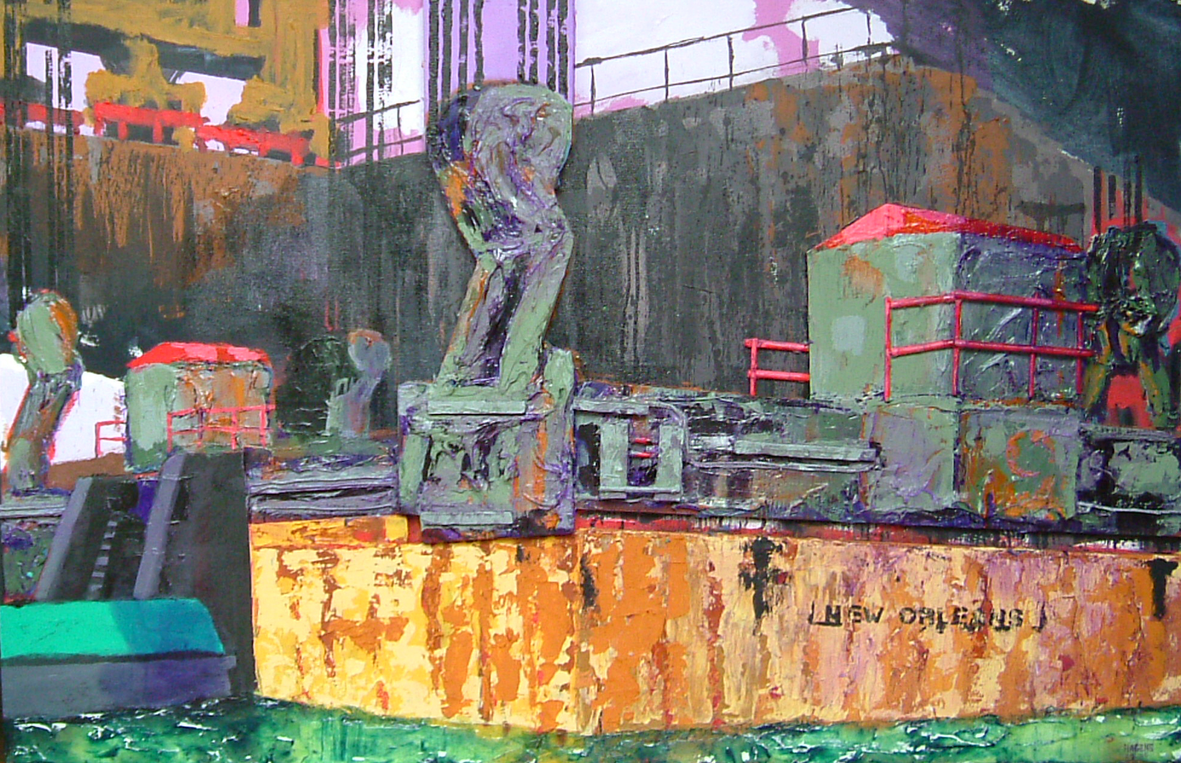 _shipping for new orleans_ 1.30 x 2.00m_hagens_2006.jpg
