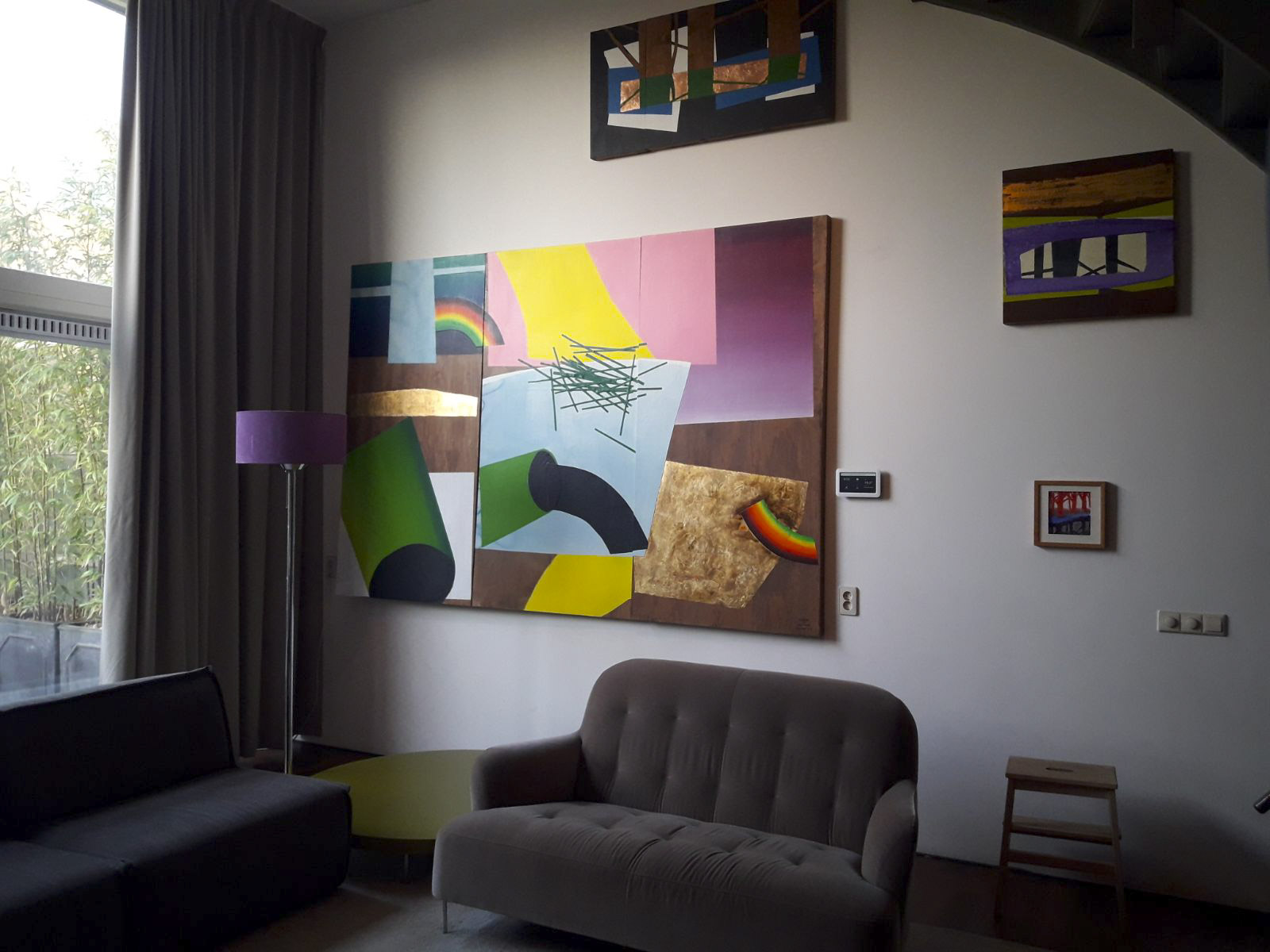 art in interior - living room 03 | sasja hagens.jpg