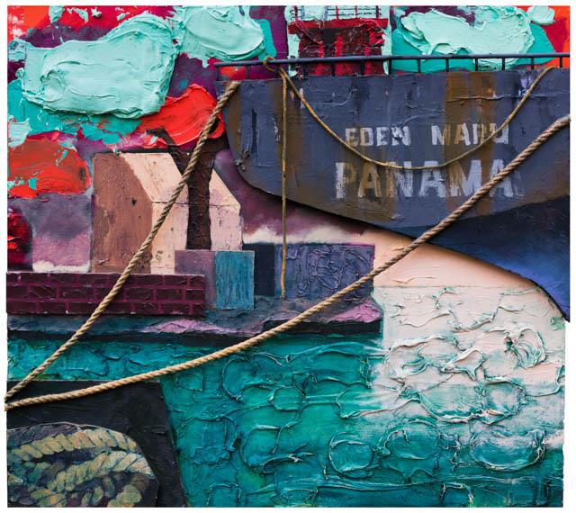 Eden Maru | 180 x 200 cm | Mixed media