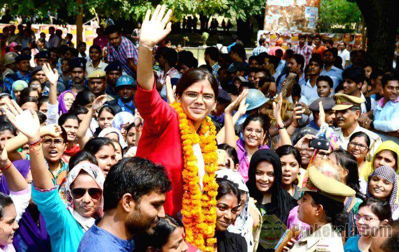 - In 2015, a young woman in Allahabad decided to contest the manliest election in India--one to the post of the president of the students' union of her university, the first woman to do so in the institution's 128-year history.Read more