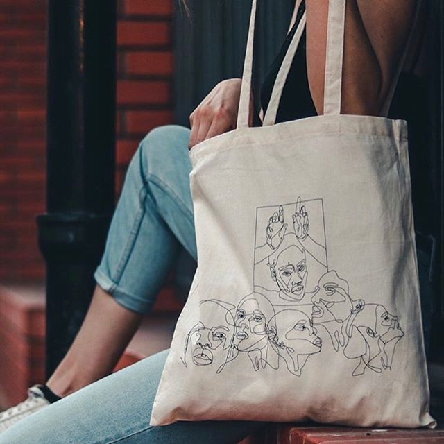 We are happy to announce our new collaboration with @wonderembodiment!❤️🎉 These brand new bags are made out of organic cotton and are completely eco-friendly!💪 For more be sure to check @wonderembodiment !