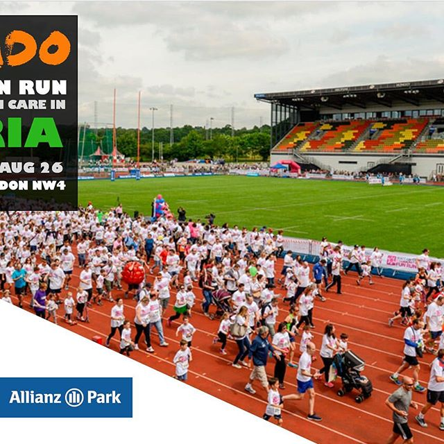Register now for the Amaudo Fun Run @allianzpark this August bank holiday, part of the Nigerian Schools Foundation annual fun day bit.ly/NSFUK-2018 #mentalhealth #funrun #running #nigeria