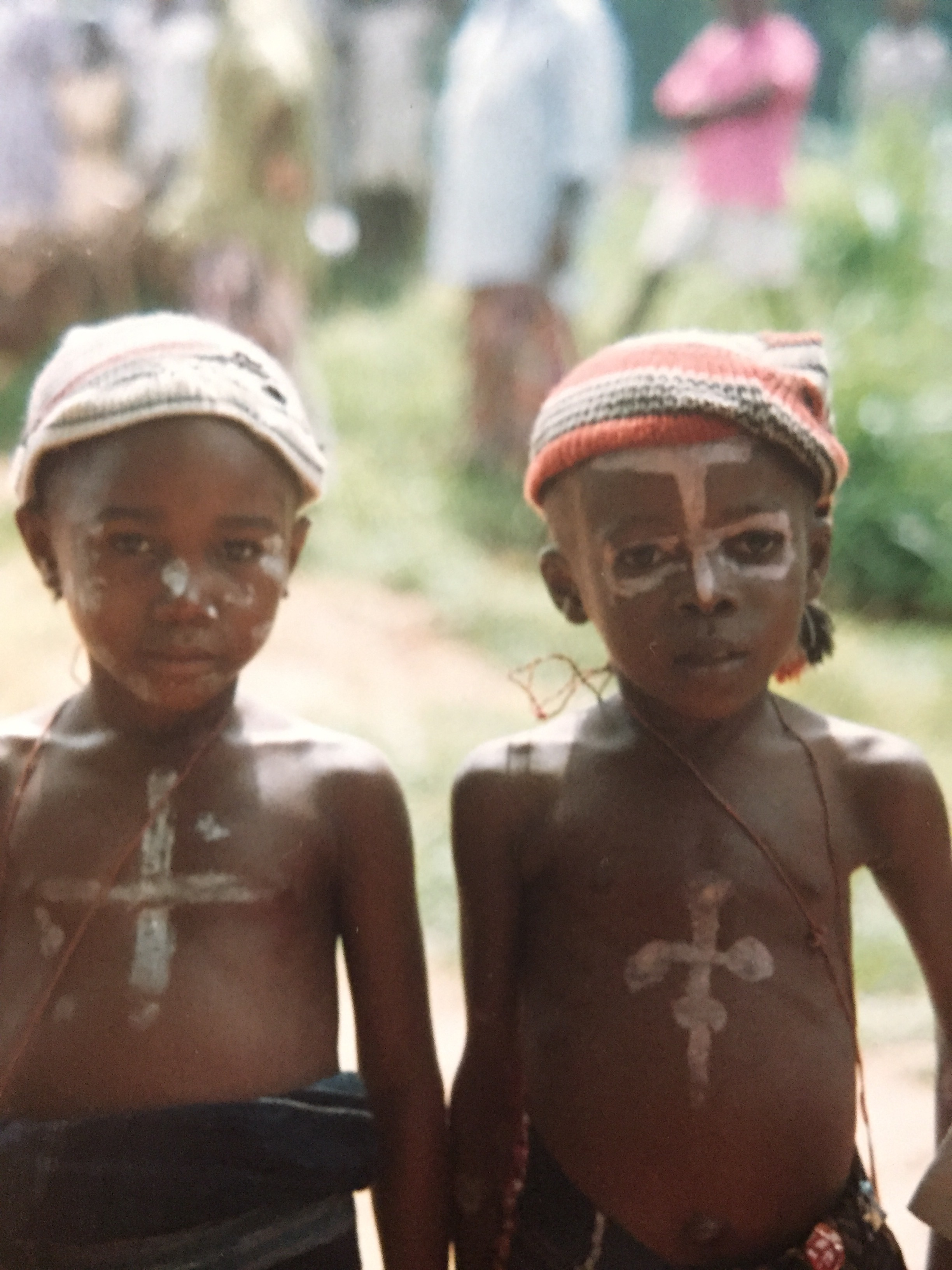 Children celebrating at the New Yam Festival.JPG